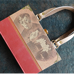 Jane Eyre book bag - Charlotte Bronte - Bag made from a book