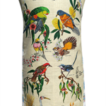 Metro Retro Australian Birds  Vintage Apron - Birthday Mother's Day Gift Idea