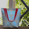 Silver Spot Canvas Tote / Sopping Bag