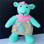 Peppermint - knitted lamb