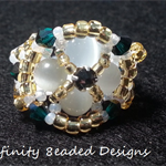 Statement Beaded Ring