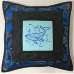 Australiana cushion cover - Humback Whale