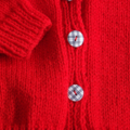 SIZE 3 -4 yrs - Hand knitted: Acrylic, Washable, Unisex