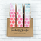 Pastel Sequins - Chunky Magnet Pegs - Magnetic Memo Pegs - Set of 3