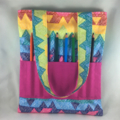 Child's Travel Activity Bag - Rainbow