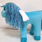 Unicorn - Turquoise Blue