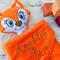 Minky Fox 'Snugabud' - personalised, comforter, keepsake, lovey.
