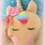 Lola Handmade Unicorn Cuddle Cushion
