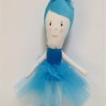 Ballerina Rag Doll- Turquoise - FREE POSTAGE AUST
