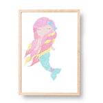 Mermaid ♥ A3 Print