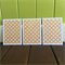 Set of Note Cards, Blank Cards, Orange Pattern, Male Cards, Female Cards