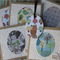 5 Woodland Gift Cards ~ Woodland Creatures ~ Owls ~ Mushrooms ~ Birds ~ Trees