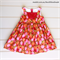 Girls Vintage Retro Party Dress, Size 4, Custom Design Available