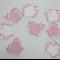 Baby Bunting / Baby Shower / Pink / White / Crochet