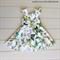 Girls Vintage Retro Party Dress, Size 5, Custom Design Available