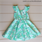 Girls Vintage Retro Party Dress, Size 6, Custom Design Available