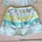Girls Matching Skirt and Top Blouse, Size 5, Custom Design Available