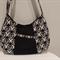 Funky Black Print Shoulder Bag