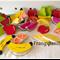Timber Fruit Playset