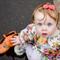 Eden floral girl vintage romper playsuit
