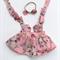 Charlotte Pink Suspender Skirt