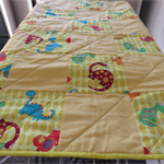 Quilted Play Mat 100% cotton 82cmx97cm