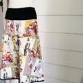 Women's Japanese Printed Cotton Skirt.