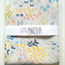 Organic Cotton Fitted Cot Sheet in Meadow Dreams