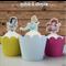 Disney Princesses half body EDIBLE wafer cupcake toppers