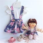 18 inch dolly Ring o Roses suspender skirt
