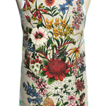 Metro Retro Australian WildFlowers Vintage Apron - Birthday, Mother's Day Gift