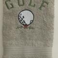 Hand Towel  Golf Design