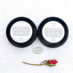 Lotion Bar in tin 40g ( rose or calendula chamomile lavender)