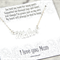 Mother Necklace, Sterling Silver Mother Name Necklace, Mothers Day Gift