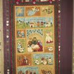 Quilted Wall Hanging - Christmas Theme