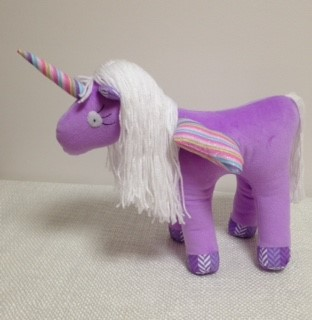 Unicorn - Mauve