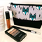 Zippered Pouch / Purse / Case Makeup - Geometric Fox