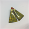 Vintage Japanese Fabric Triangle Studs - FREE POSTAGE