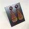 Red Teardrop Stud Earrings - FREE POSTAGE