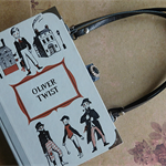 Oliver Twist book bag - Charles Dickens - Bag made from a book