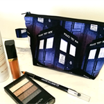 Zippered Pouch / Purse / Case Makeup - Dr Who