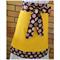 Yellow Half Apron with Aboriginal Dot Print Ties