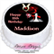 Twilight Personalised Round Edible Icing Cake Topper - PRE-CUT