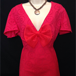 ladies stunning red top size 16