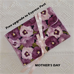Free post upgrade Mother's Day gift idea. Jewellery  roll, traveller's essential