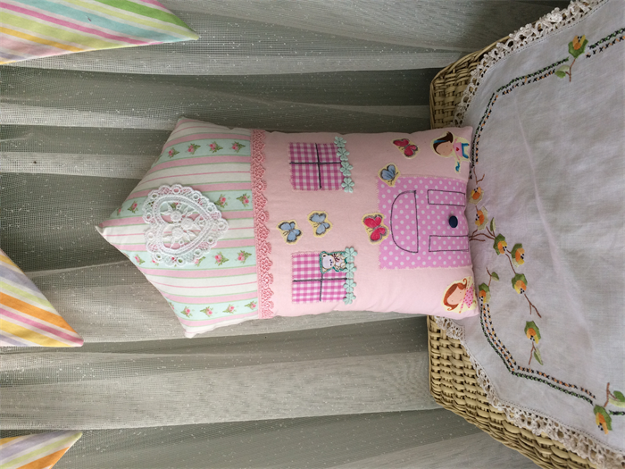 House Shaped Cute Decorator Cushionkids Decor Bed Pillow