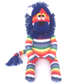 'Linus' the Rainbow Sock Lion - *MADE TO ORDER*