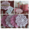 Crochet Coasters.