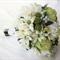 Native Bridal Bouquet with Peonies, Waratahs, Flannel Flowers, Eucalyptus Gum