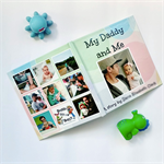 My Daddy and Me personalised story illustrated with YOUR photos (8x8 HARD COVER)